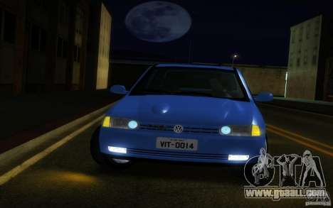 Volkswagen Golf GTI 1996 for GTA San Andreas back view
