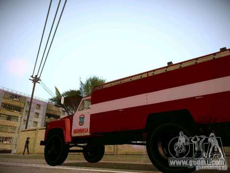 GAS hose 30 53 Fire for GTA San Andreas back view