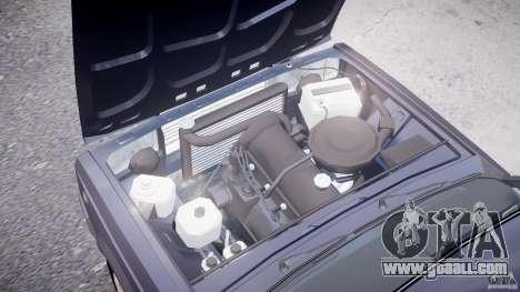 Vaz-2107 for GTA 4 upper view