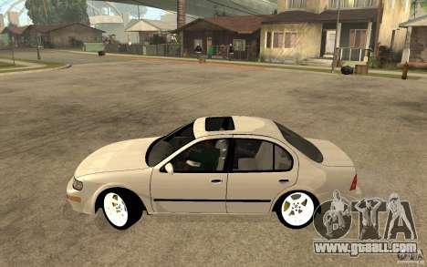 Nissan Maxima 1998 for GTA San Andreas left view