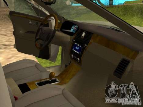 Cadillac DTS 2008 Limousine for GTA San Andreas back view