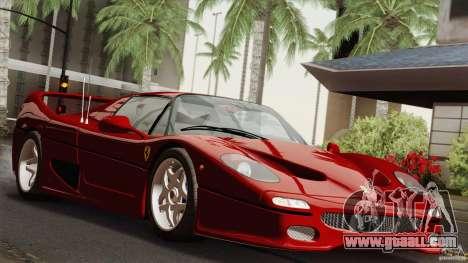 Ferrari F50 v1.0.0 Road Version for GTA San Andreas