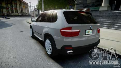 BMW X5 Experience Version 2009 Wheels 223M for GTA 4 back left view