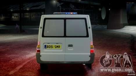 Ford Transit Polish Firetruck [ELS] for GTA 4 interior