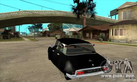 Citroen ID 19 for GTA San Andreas back left view