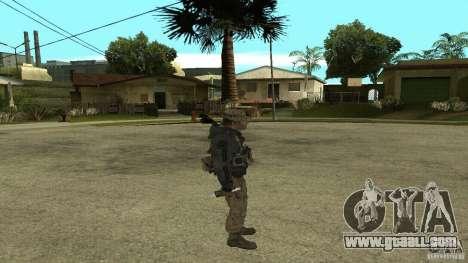 Captain Price for GTA San Andreas fifth screenshot