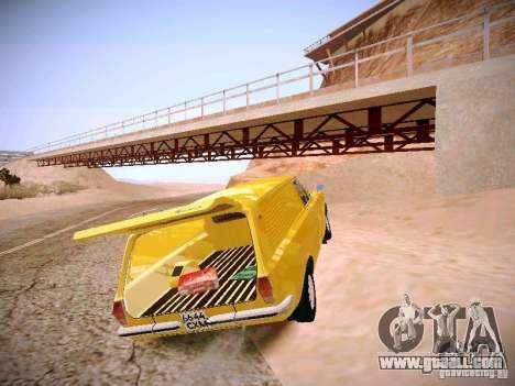GAZ-24 Volga 02 Van for GTA San Andreas back view