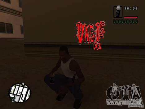 New graffiti gangs for GTA San Andreas fifth screenshot