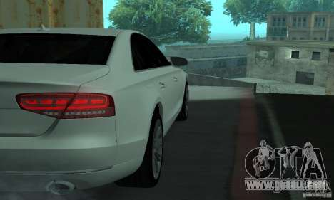Audi A8 for GTA San Andreas