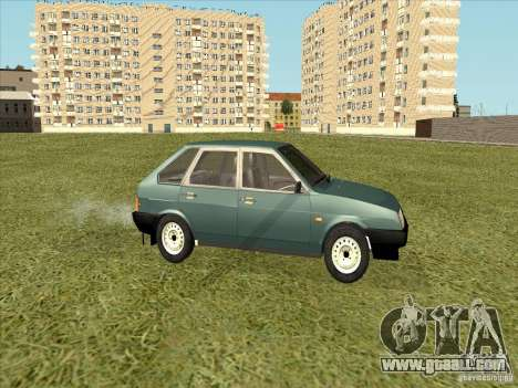 VAZ 2109 Final for GTA San Andreas back left view