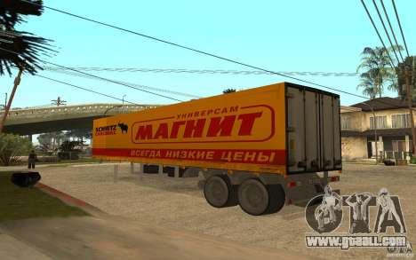 Trailer Magnet for GTA San Andreas