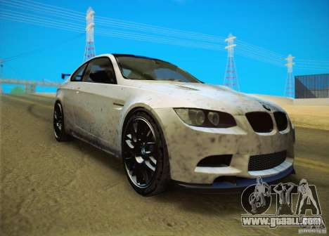 BMW M3 GT-S Final for GTA San Andreas