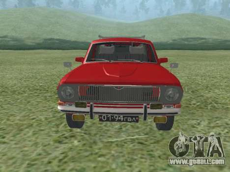 GAZ-24 Volga 02 for GTA San Andreas left view