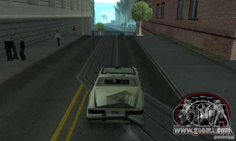 Speedo Skinpack FLAMES for GTA San Andreas second screenshot