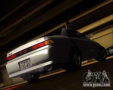 Toyota Mark II GX90 v.1.1 for GTA San Andreas back left view