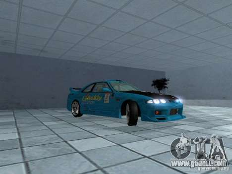 Nissan Skyline R 33 GT-R for GTA San Andreas back view