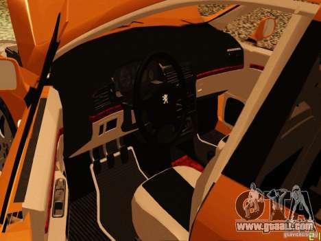 Peugeot 407 for GTA San Andreas