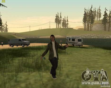 Party on the nature for GTA San Andreas