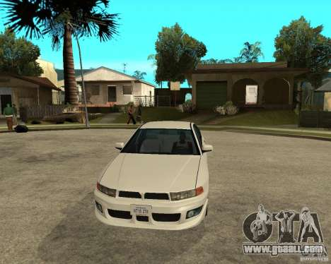 Mitsubishi Galant VR6 for GTA San Andreas back view