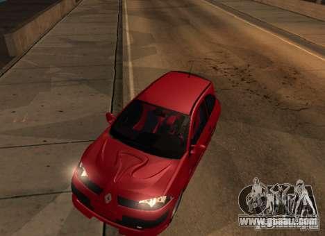Renault Megane Sport Custom for GTA San Andreas