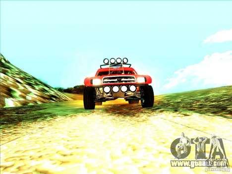 Toyota Tundra Rally for GTA San Andreas right view