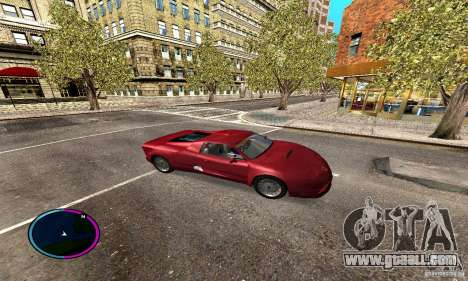 Axis Piranha Version II for GTA San Andreas