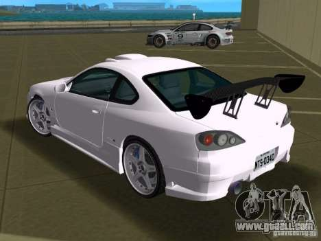 Nissan Silvia spec R Tuned for GTA Vice City inner view