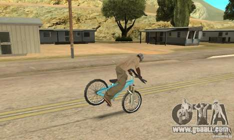 Dirt Jump Bike for GTA San Andreas inner view