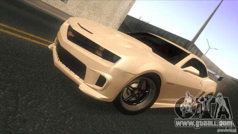 Chevrolet Camaro SS Dr Pepper Edition for GTA San Andreas left view