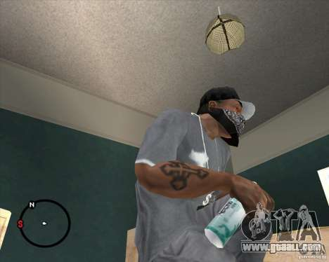Rexona4Men Deodorant for GTA San Andreas second screenshot
