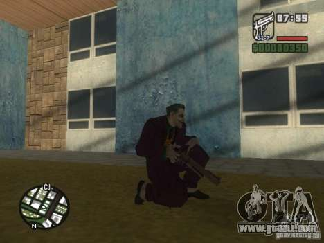 HQ Joker Skin for GTA San Andreas eighth screenshot