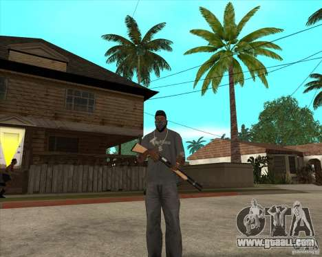 Gta IV weapon anims for GTA San Andreas