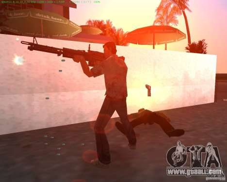 The new M-60 for GTA Vice City second screenshot