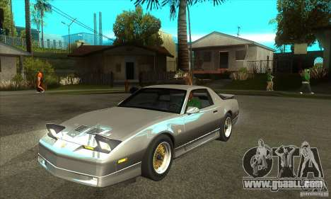 Pontiac Trans AM 1987 for GTA San Andreas
