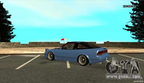 Nissan 240SX JDM for GTA San Andreas right view