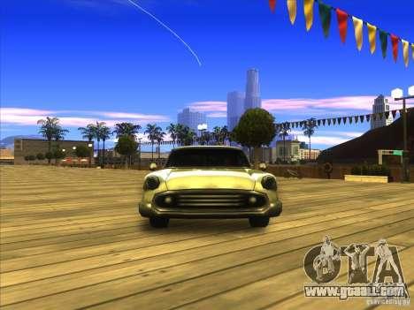 Glendale - Oceanic for GTA San Andreas back view