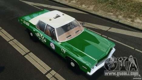Dodge Monaco 1974 Taxi v1.0 for GTA 4 wheels