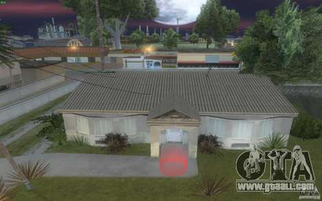 Four new houses on Grove Street for GTA San Andreas forth screenshot