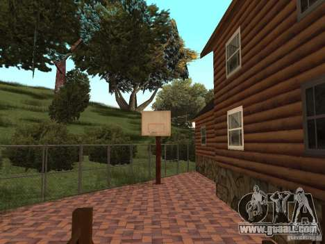 New villa for CJ for GTA San Andreas ninth screenshot