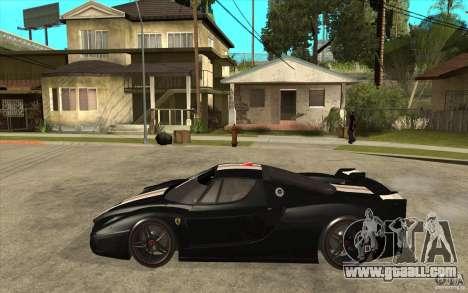Ferrari FXX 2005 for GTA San Andreas back left view