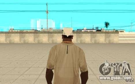 Bandana white for GTA San Andreas third screenshot
