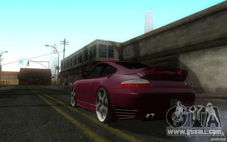 Ruf R-Turbo for GTA San Andreas back left view