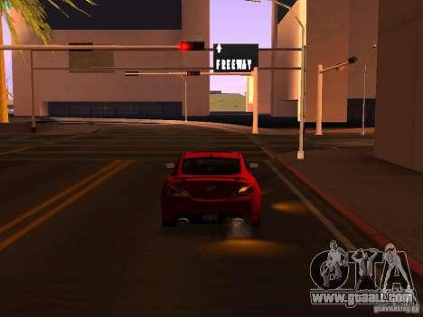 Hyundai Genesis Coupé 3.8 Track v1.0 for GTA San Andreas side view