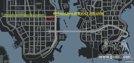 Remake second police station for GTA 4 ninth screenshot