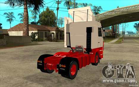 Scania 143M 450 V8 for GTA San Andreas right view
