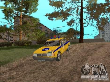 2141 AZLK GAI for GTA San Andreas inner view