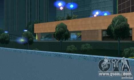 Blue headlights for GTA San Andreas third screenshot