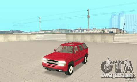 Chevrolet Tahoe 1992 for GTA San Andreas