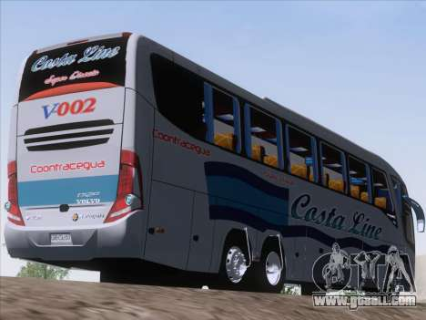 Marcopolo Paradiso 1200 G7 Volvo B12R for GTA San Andreas right view