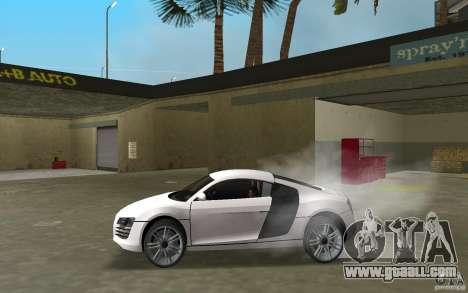 Audi R8 Le Mans for GTA Vice City left view